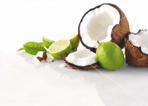 Coconut and limes
