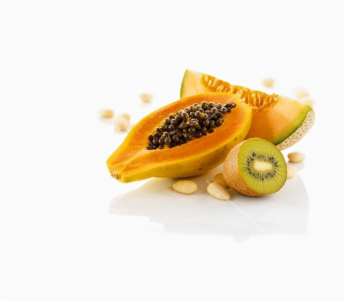 Exotic fruits and nuts