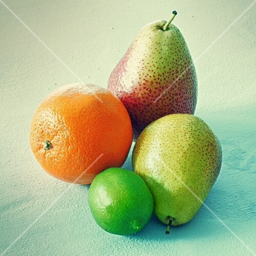 Oranges, limes and pears