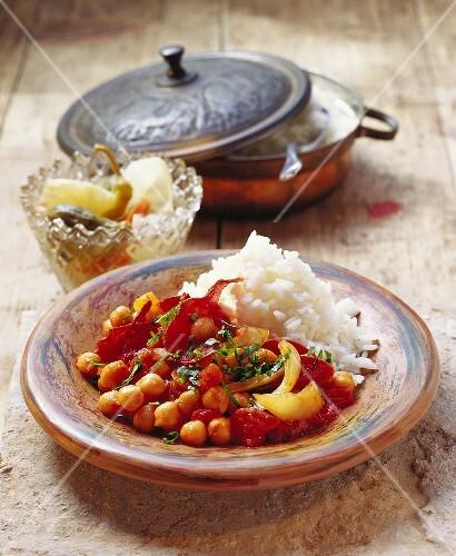 Pastirmali nohut (chick-peas with pastirma; Turkey)
