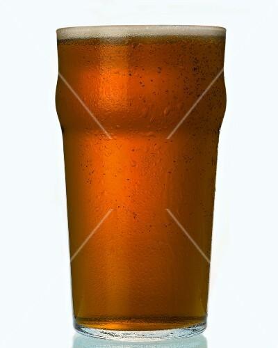 A pint of bitter, England