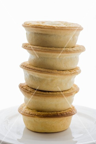 Meat pies, stacked (Australia)