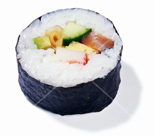 A maki sushi