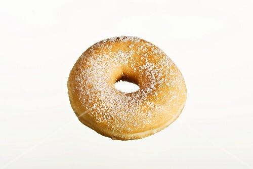 A sugared doughnut