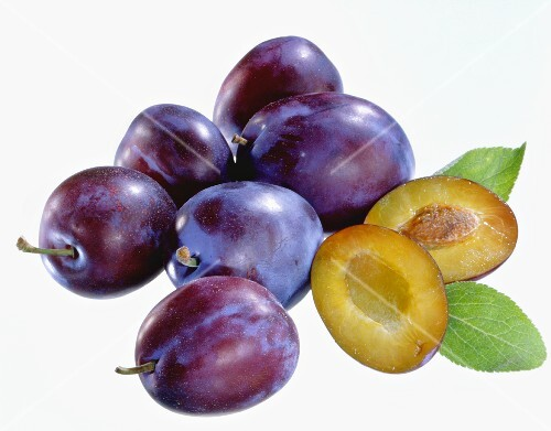 Several plums