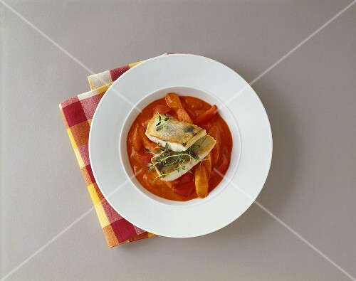 Zander fillet in pepper sauce (Burgenland, Austria)