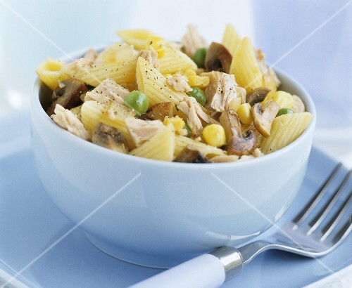 Pasta and tuna salad