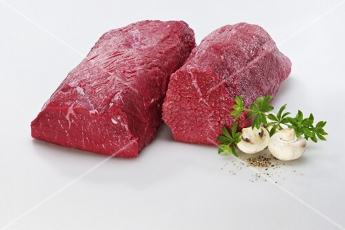 Two joints of beef