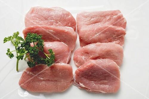 Veal loin steaks
