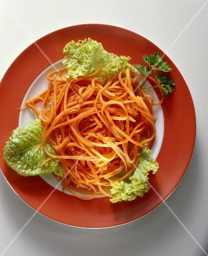 Carrot spaghetti