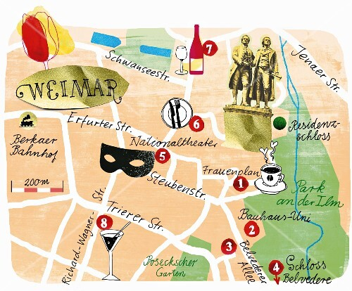 A Map Of Weimar Germany Buy Images Seasons Agency