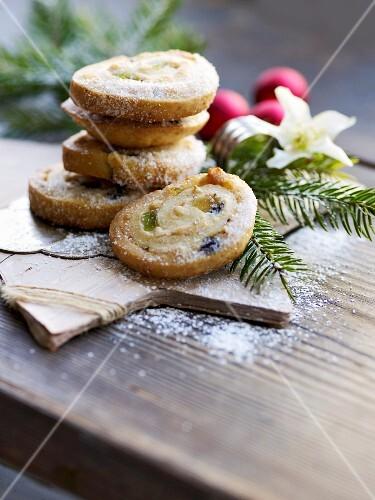 Stollen biscuits