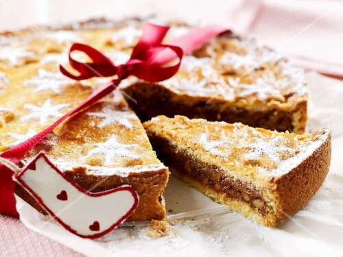 Grisons nut cake for Christmas