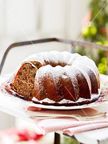 A spiced Bundt cake for Christmas