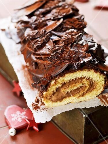 Buche De Noel (French Christmas cake)