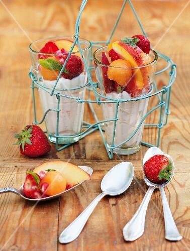 Summery fruit salad