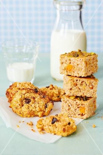 Healthy baked goods, suitable for pregnancy and breastfeeding mothers