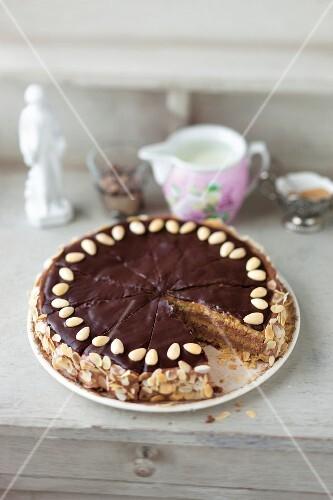 Burgenland almond cake (Austria)