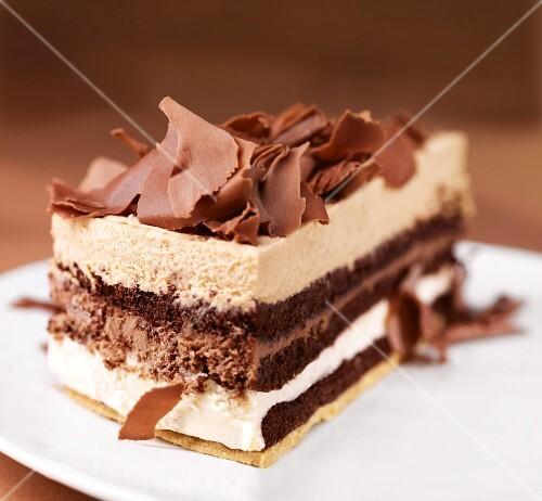 A slice of Schöppenstedter Torte