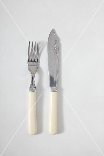 Antique cutlery