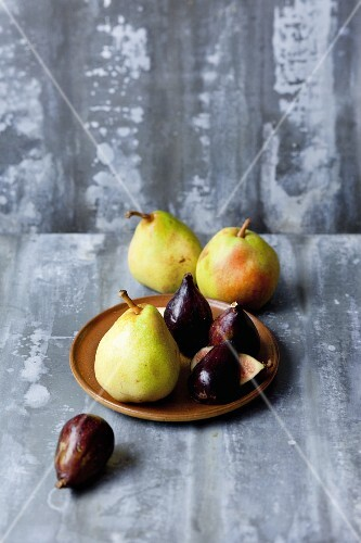 Pears and figs