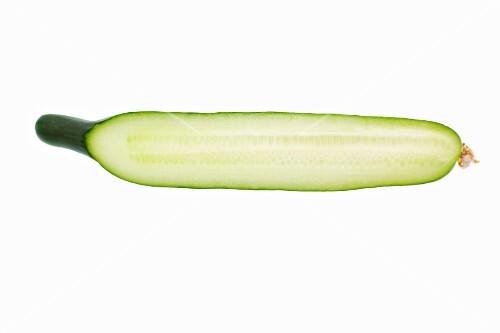 Half a cucumber