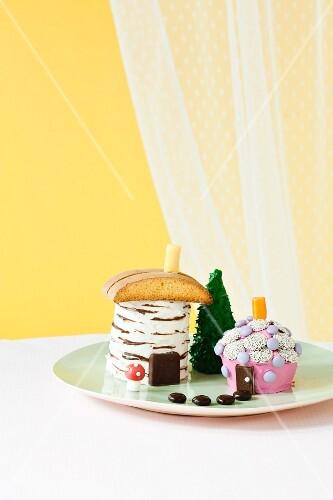 Fairy House Cakes
