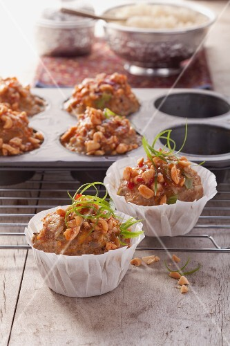 Minced meat muffins