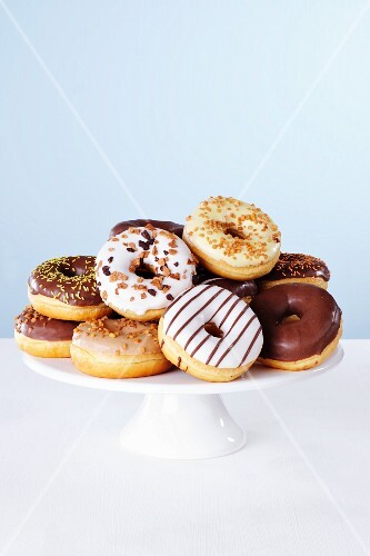 Doughnuts with different icing