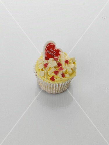 Cupcake for Valentine's Day