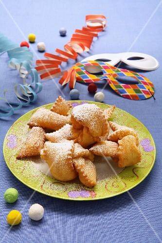 Chiacchere (Italian carnival pastries)