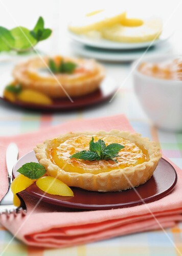 Exotic fruit tartlets