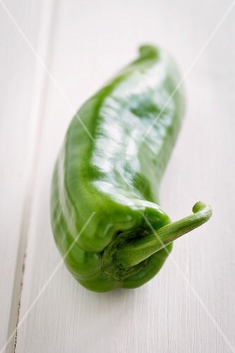 A green pointed pepper