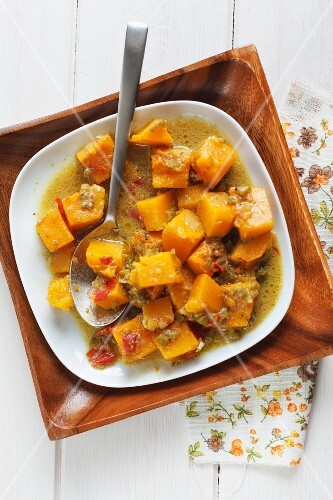 Pumpkin curry from Martinique
