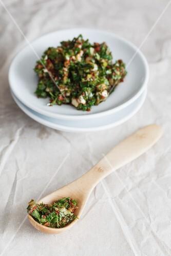 Chermoula (oriental spice paste)