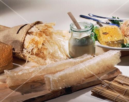 Agar agar and products