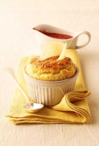 Cheese souffle
