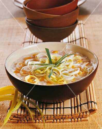 Sweetcorn soup with crab (China)