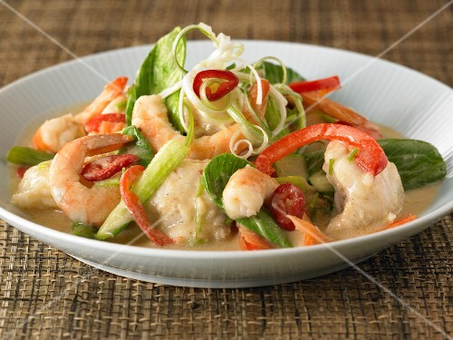 Seafood curry (Thailand)