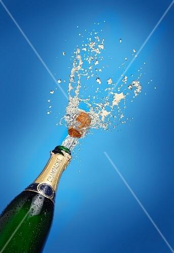 A splash of champagne