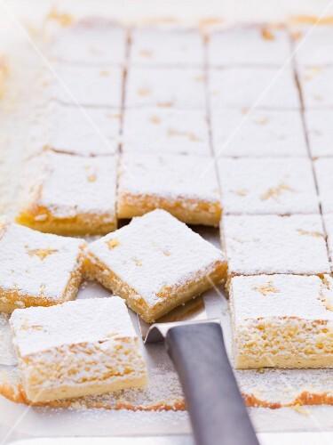 Tray-bake cheesecake