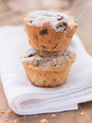 Two Scotch whisky muffins