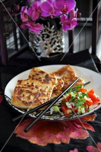 Roti canai (flatbread, Malaysia)
