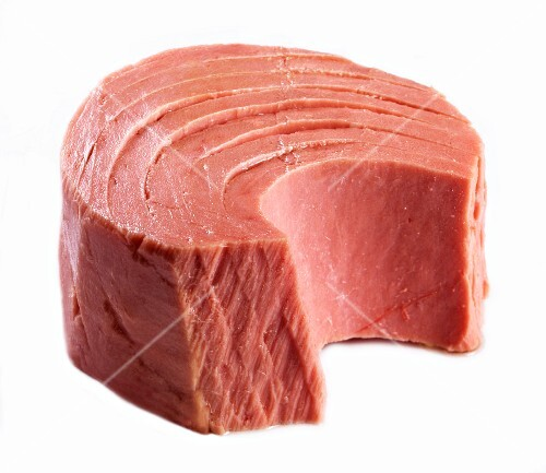 A piece of tuna