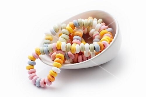 A candy bracelet