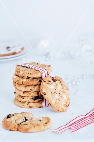 Chocolate chip cookies as a Christmas present