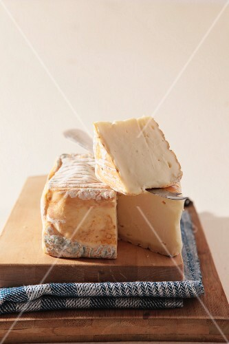 Taleggio (a soft cheese from northern Italy)
