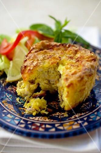 Pastilla (typical dish from Tunisia)
