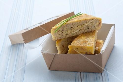 Torta al tonno (tuna fish cake)