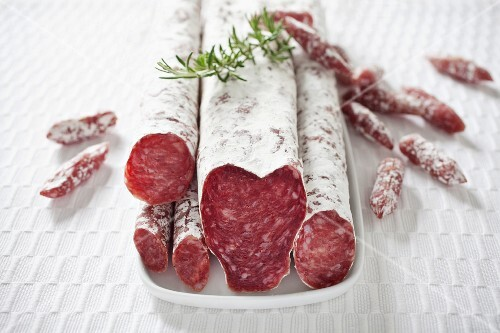Types of Spanish salami